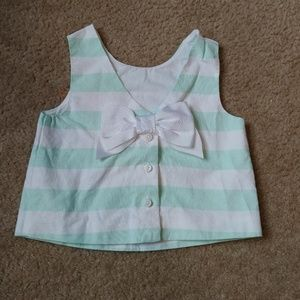 Size 4 Janie and Jack crop top